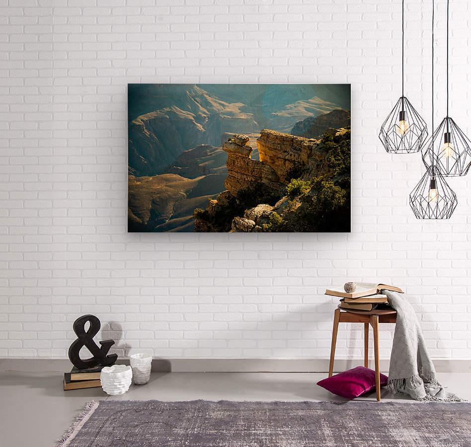 Grand Canyon South Rim  Wood print