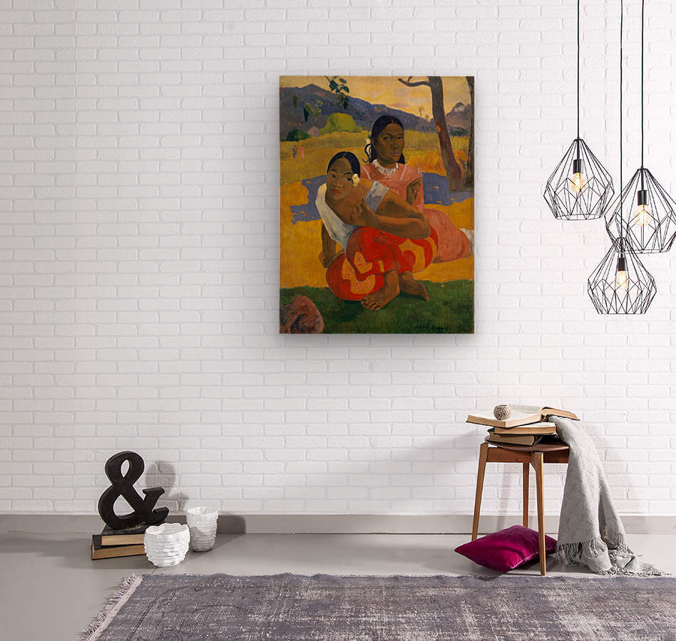 Paul Gauguin: When Will You Marry HD 300ppi  Wood print
