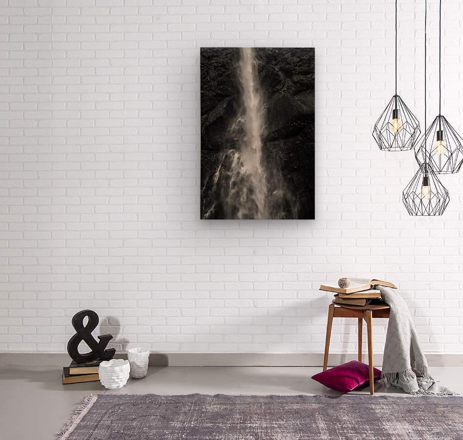 Multnomah 3  Wood print