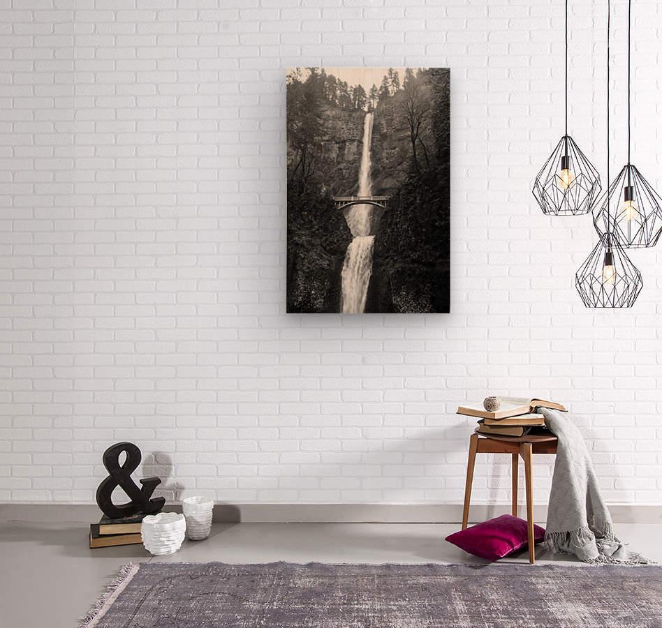 Multnomah  Wood print