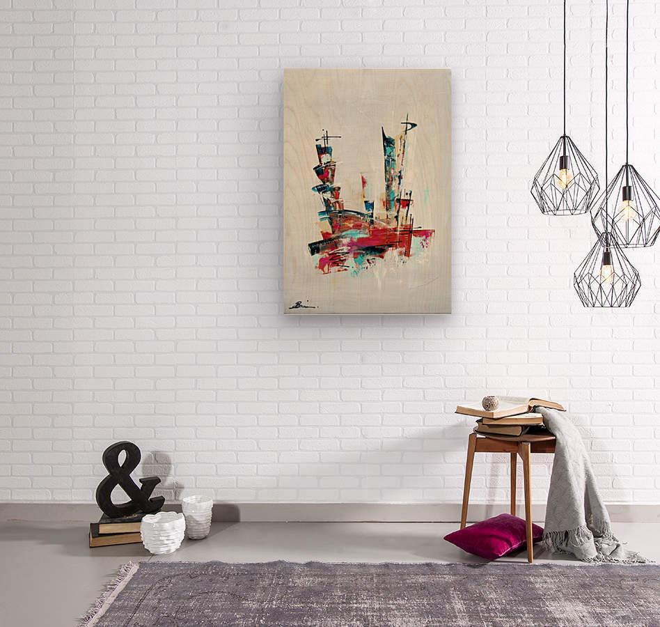 Primavera IV  Wood print