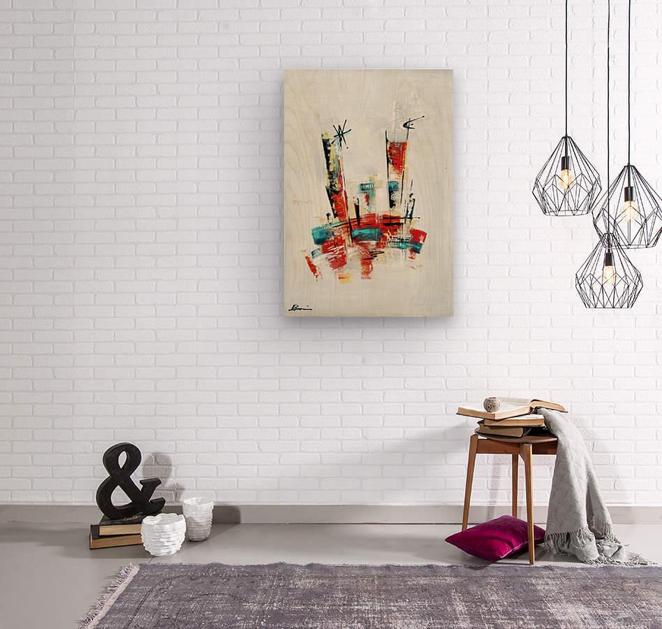 Primavera VI  Wood print