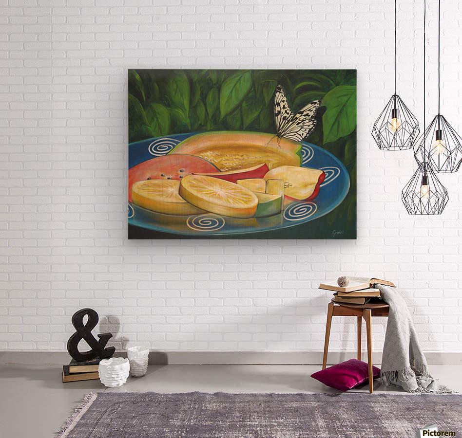 feast  Wood print