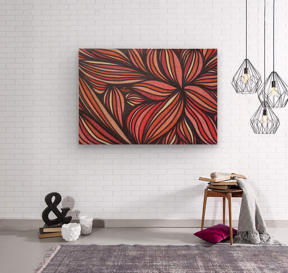 StarFlame   Wood print