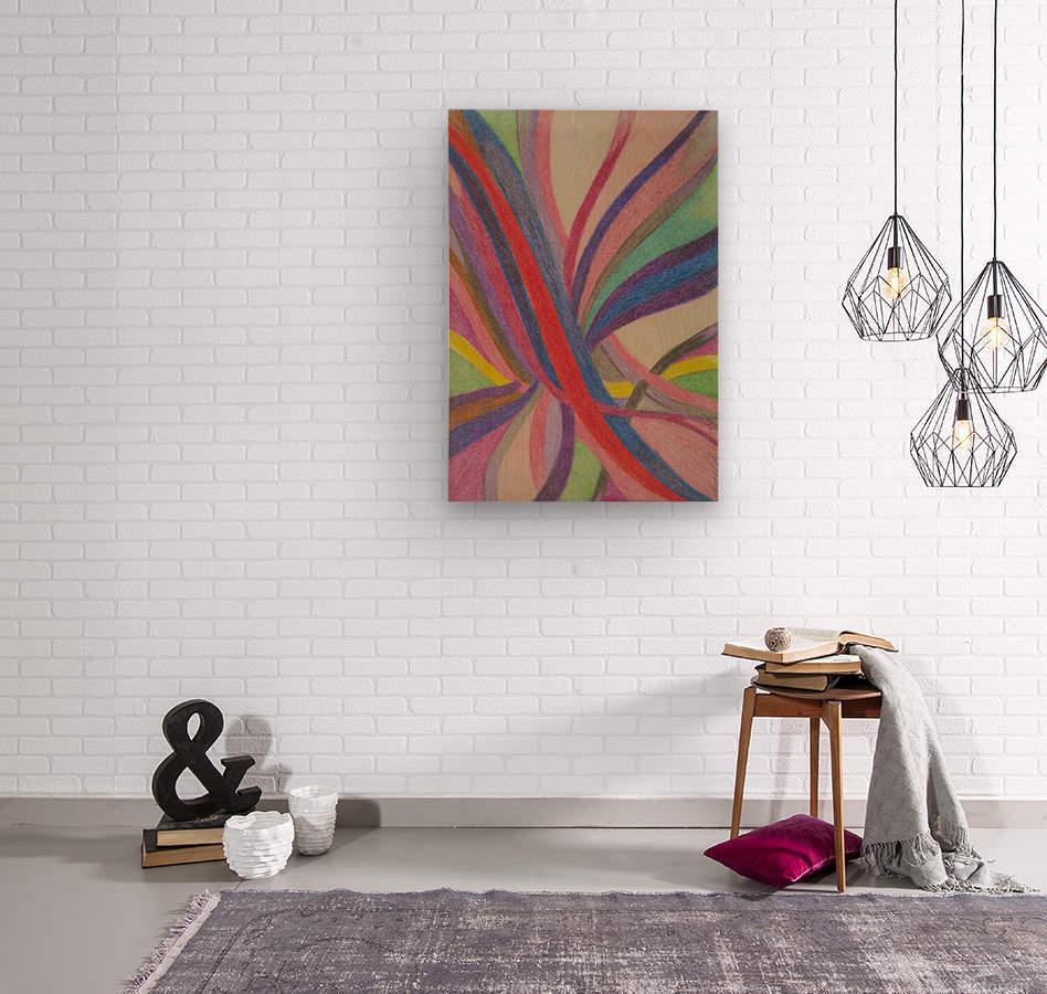 Faye Realm   Wood print