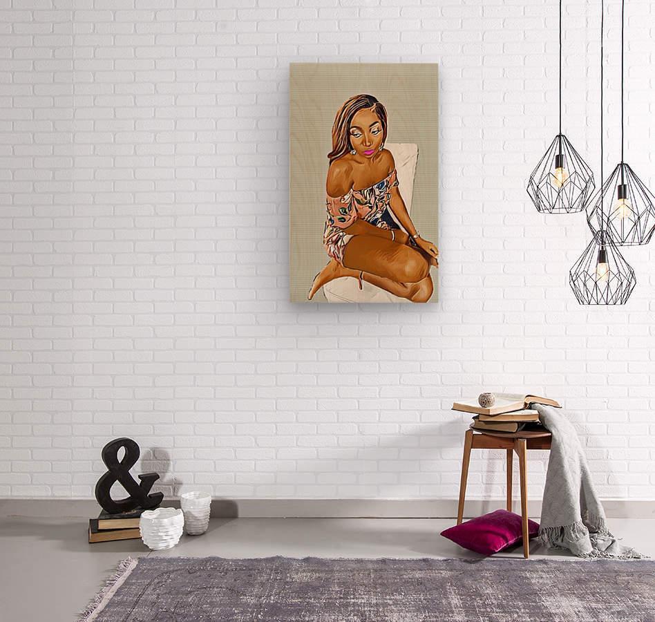 Reminisce  Wood print