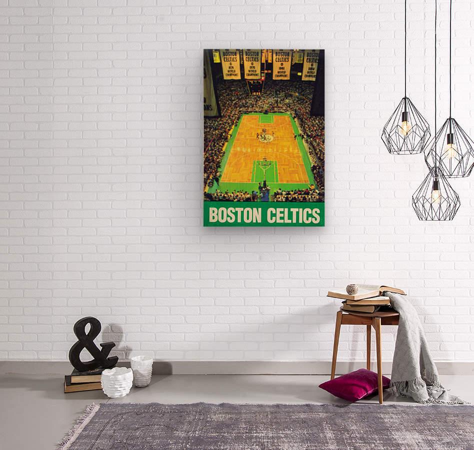 1988 Boston Celtics Boston Garden Art  Wood print