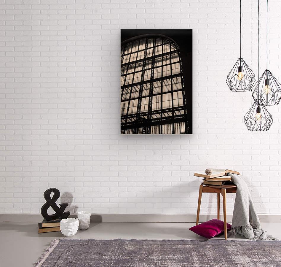 Between Dimensions  Wood print