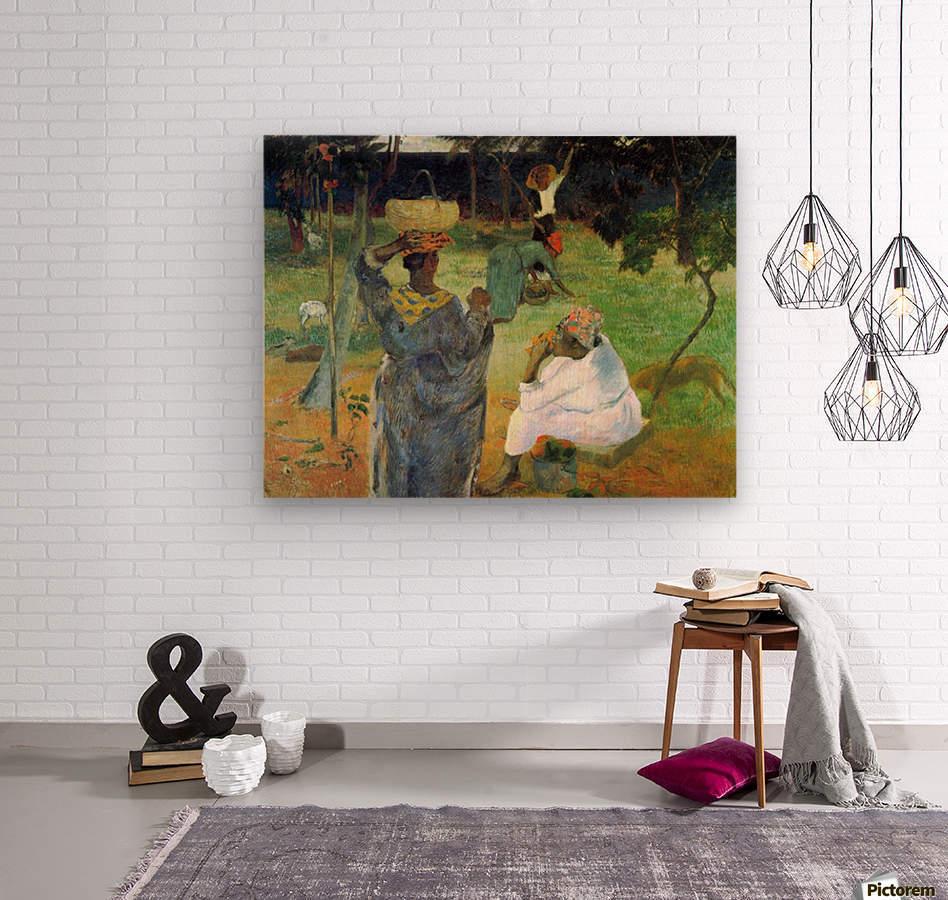 Mango Fruit by Gauguin  Wood print