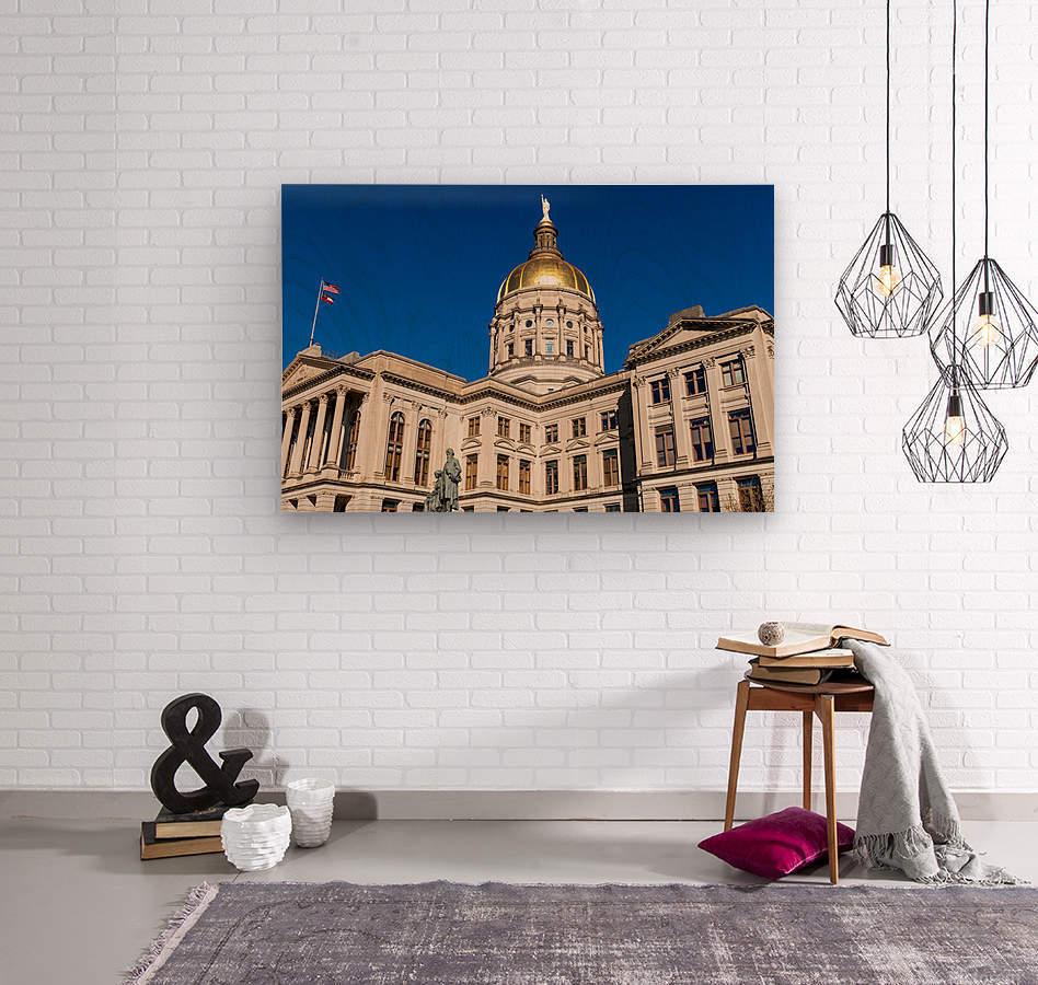 Georgia State Capitol Building   Atlanta GA 7220  Wood print
