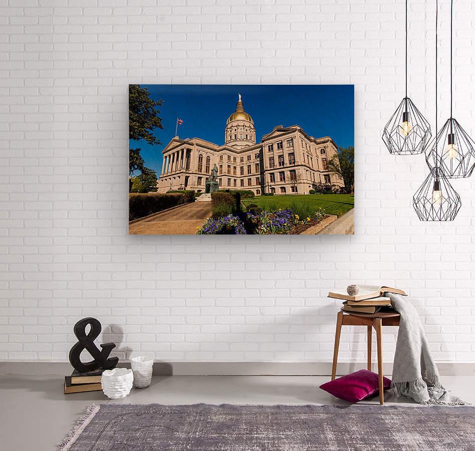 Georgia State Capitol Building   Atlanta GA 7215  Wood print