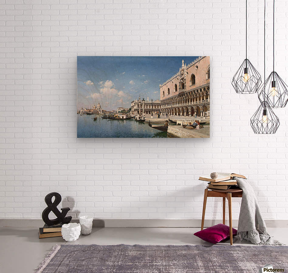 Grand Canal, Venice  Wood print