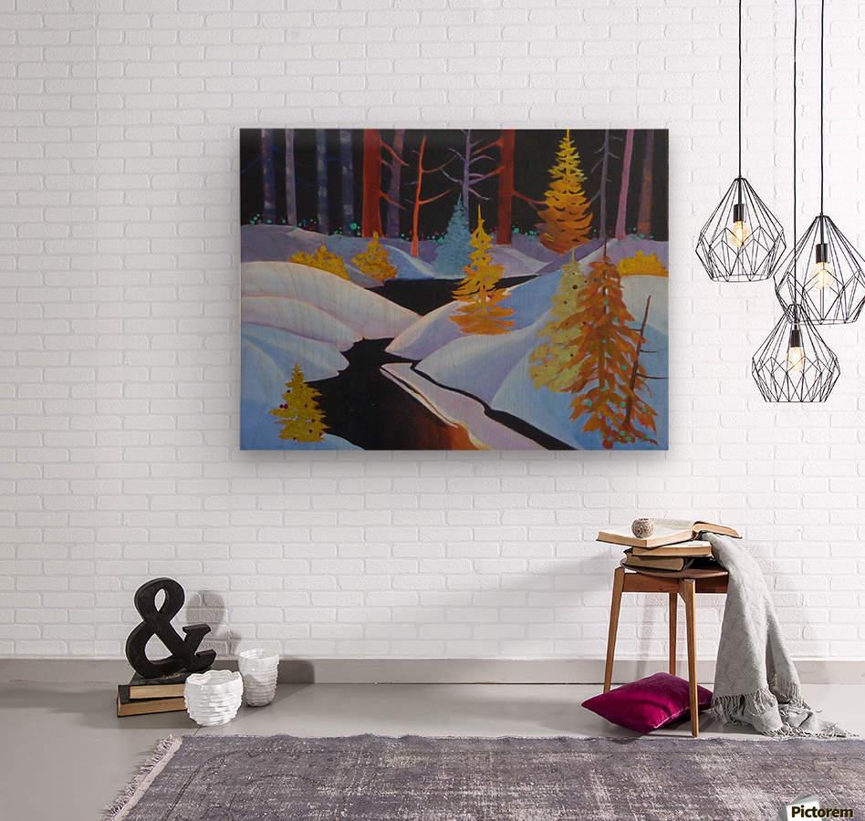 winterwonderland.acrylic  Wood print