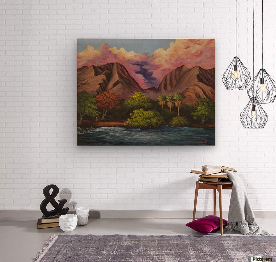 Olowalu  Wood print