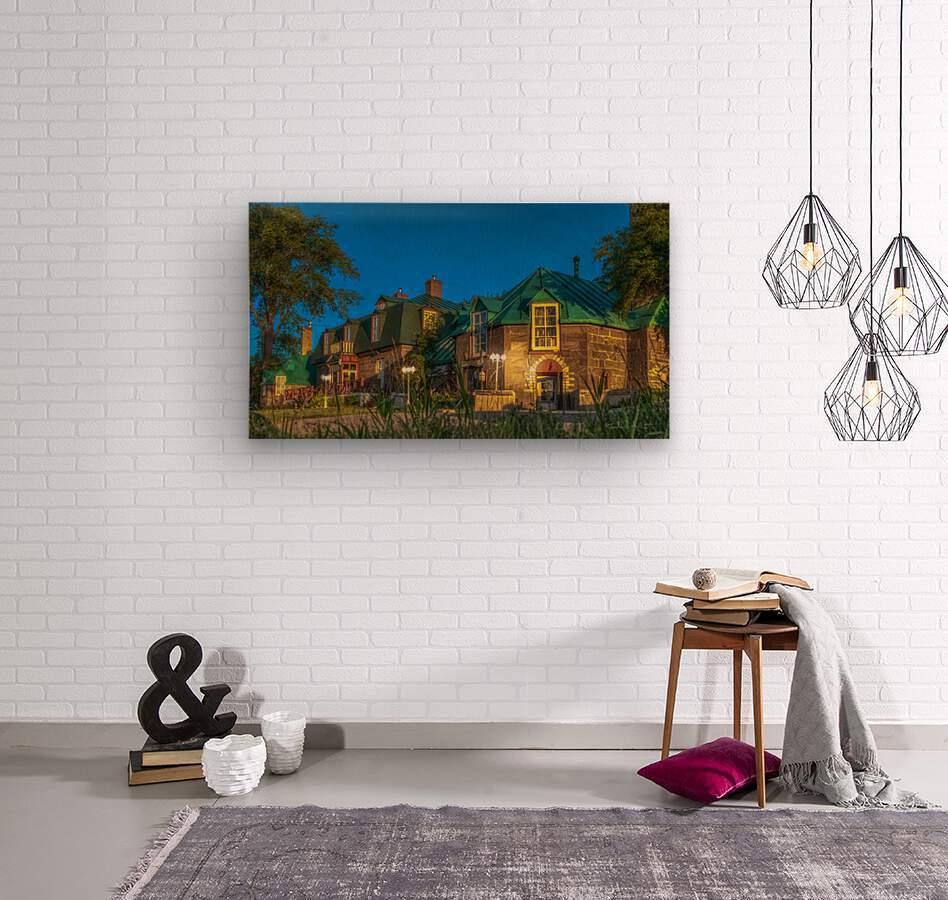 Maison William Wakeham  Wood print