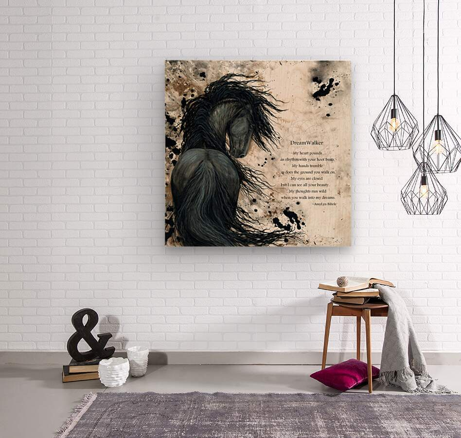 DreamWalker Dream Horse   Wood print
