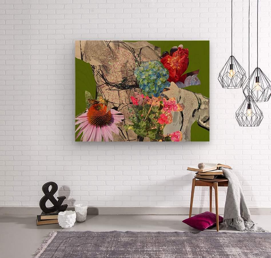 flowersandflex  Wood print