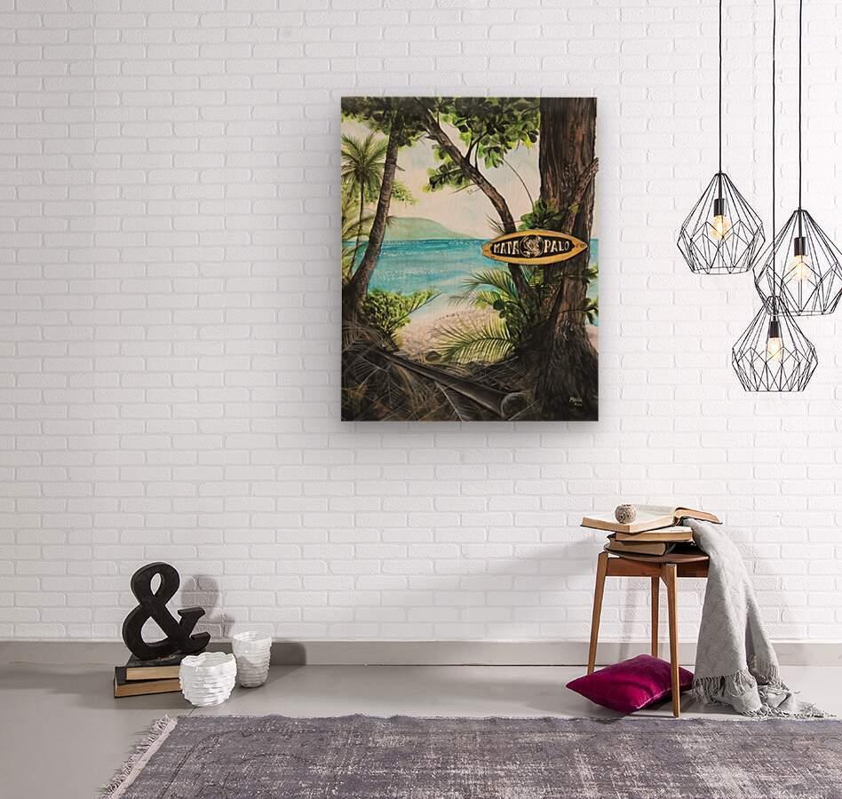 Collection COSTA RICA-Matapalo  Impression sur bois