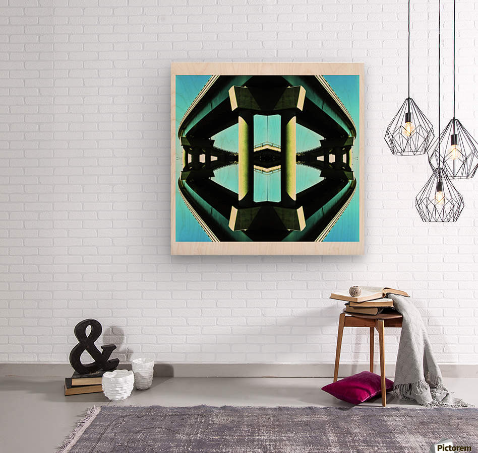 H  Wood print