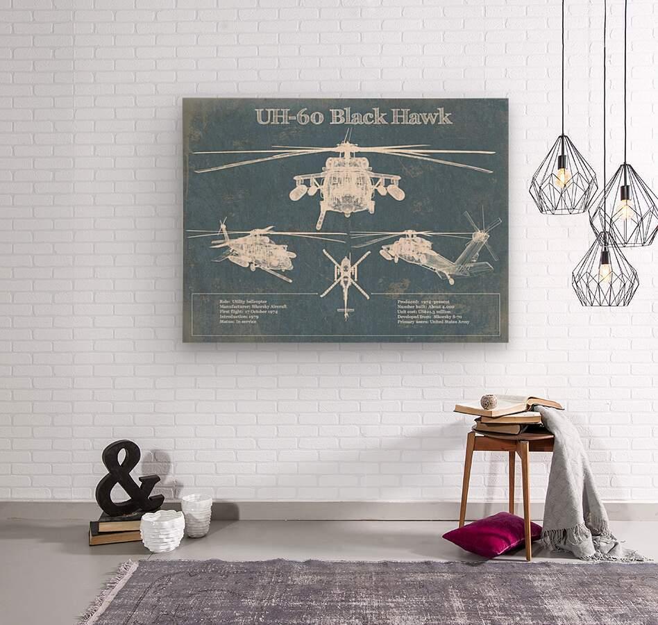 blackhawk  Wood print