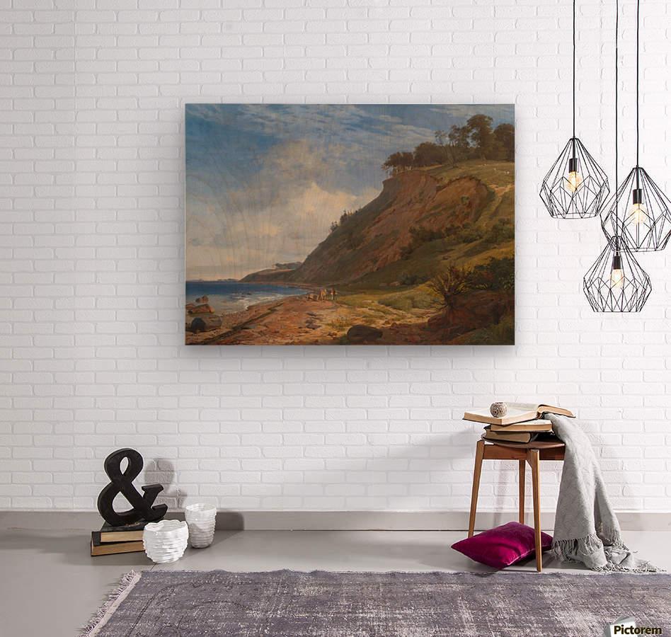 A Danish Coast  Wood print