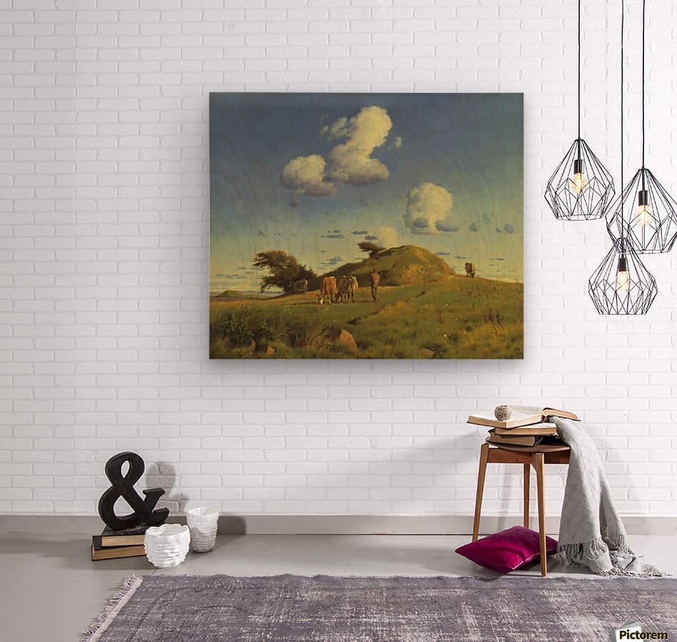 Hankehoj  Wood print