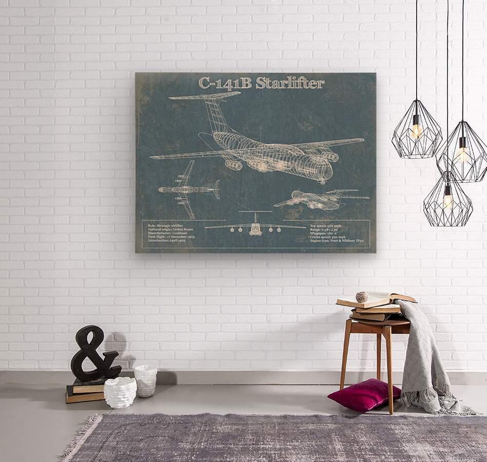 starlifter  Wood print