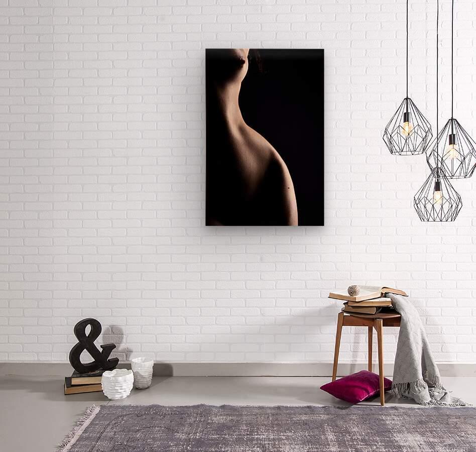 Nude_woman_sexy_fine_art_naked_07  Wood print