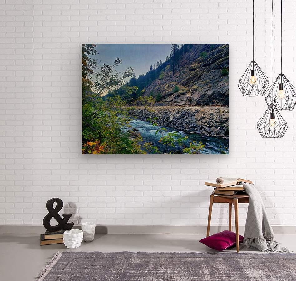 Wenatchee River   Wood print