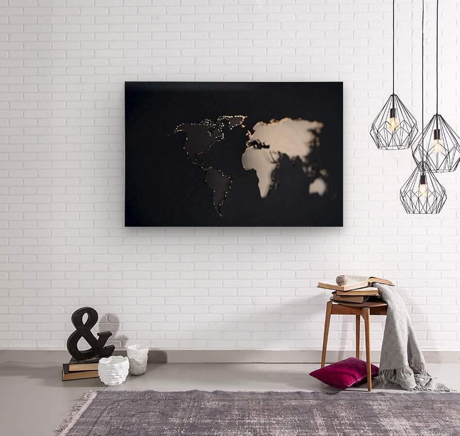 Dark Continent Briala  Wood print