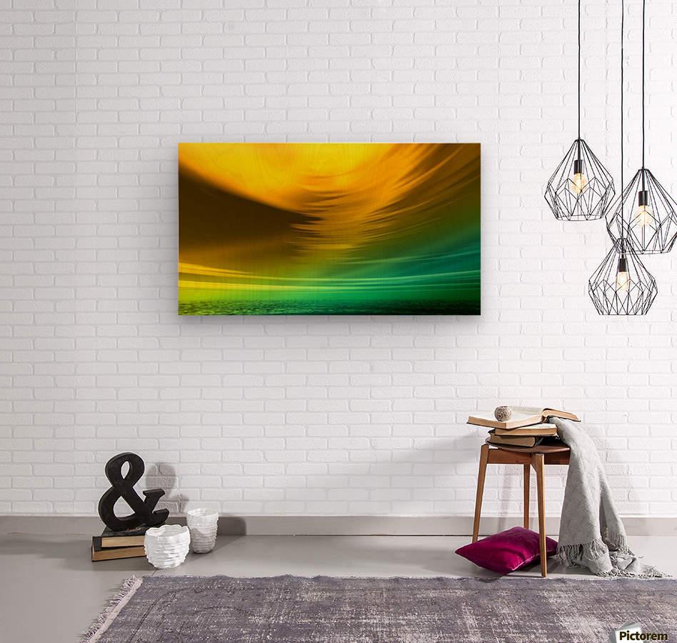 Storm  Wood print