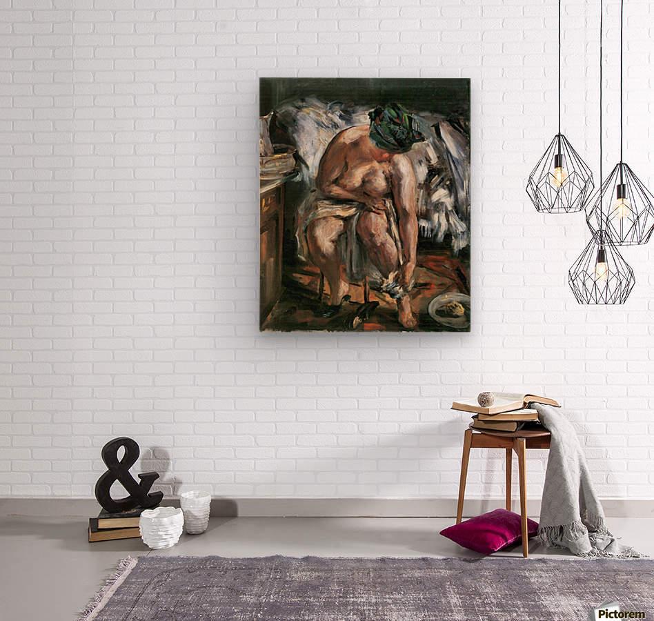 Matinee by Lovis Corinth  Wood print