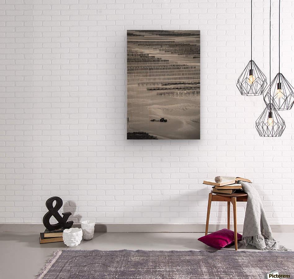 Cancale  Wood print