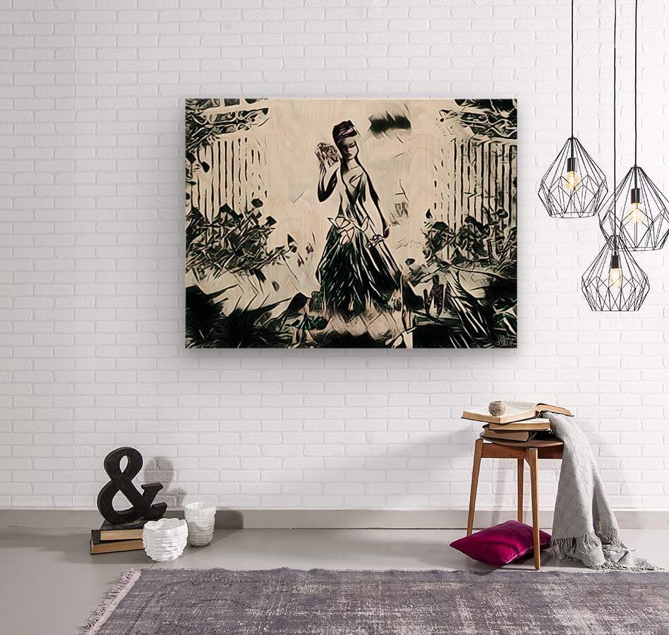 Natures Monarch of the Wild  Wood print