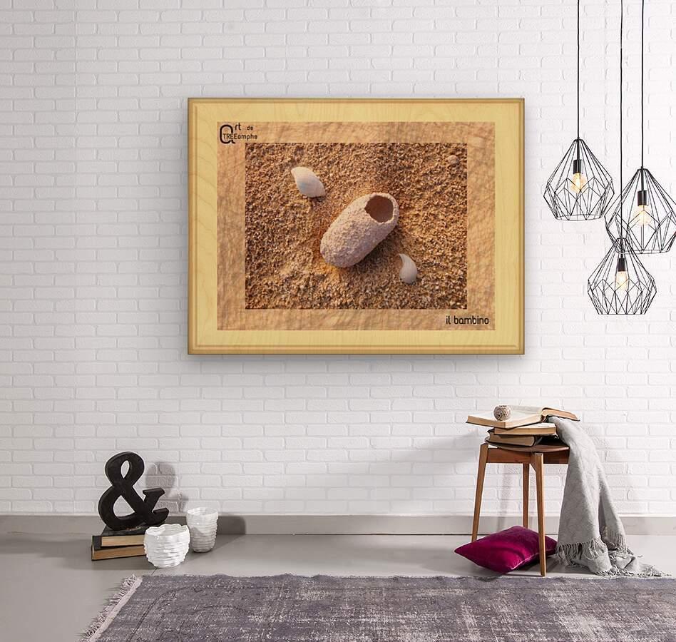 the child - Italian  Wood print
