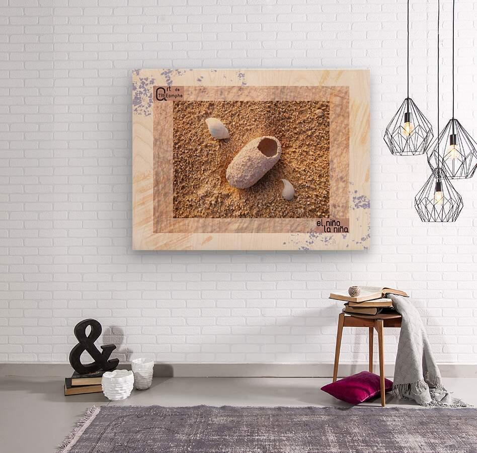 the child - Spanish  Wood print