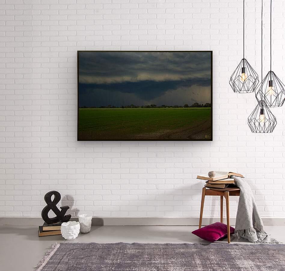 coraki storm  Wood print