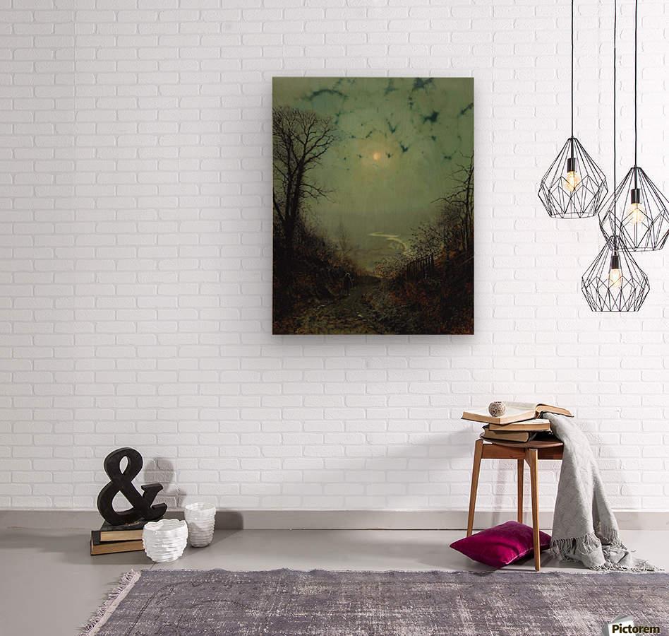 Wharfedale  Wood print