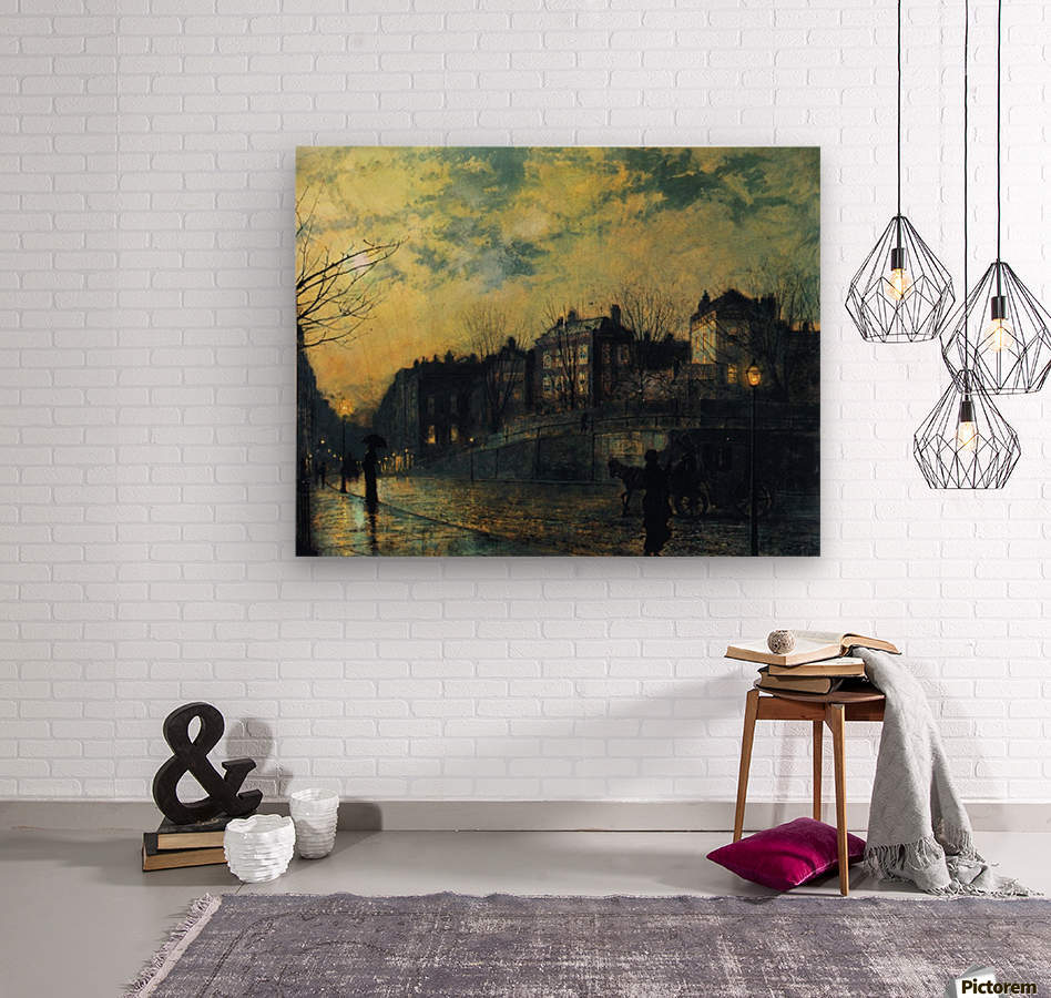 Hampstead  Wood print