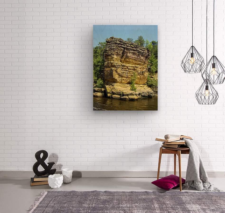 Rugged Wisconsin 4  Wood print