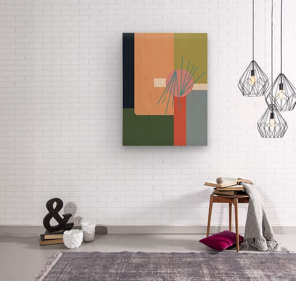 Abroad   Wood print