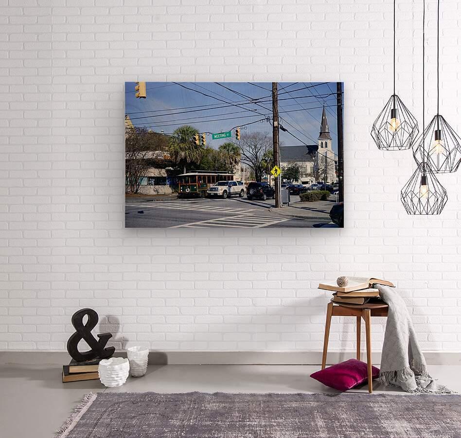 Snapshot in Time Charleston 1 of 5  Wood print