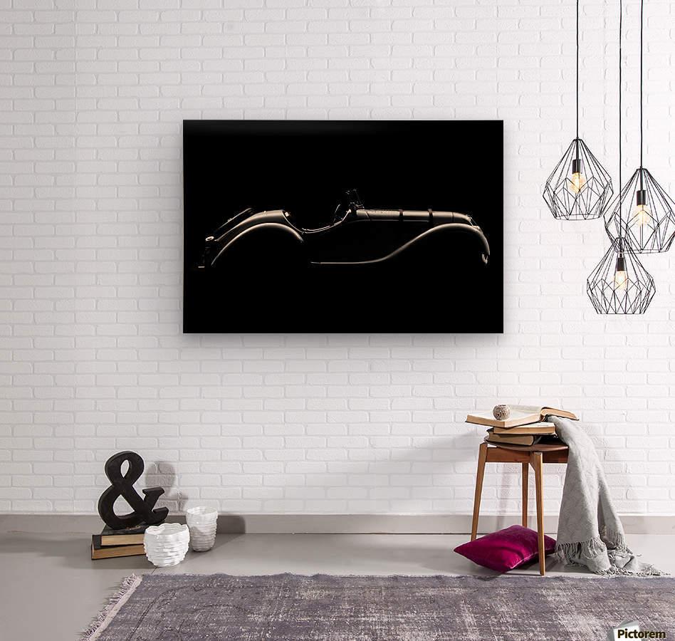 Silhouette by Alvaro Perez   Wood print