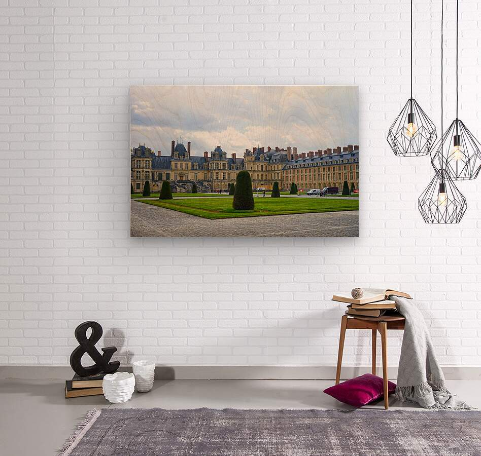 Chateaus of France 3  Wood print