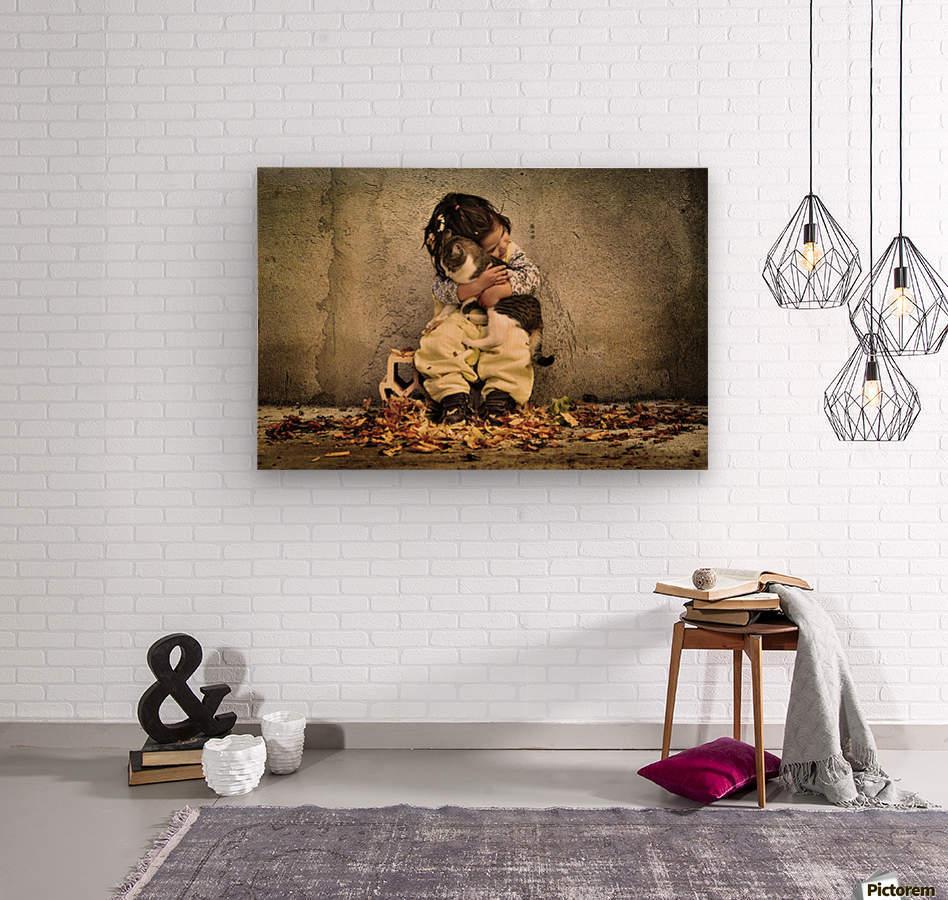 Untitled by Iacob Anca   Wood print