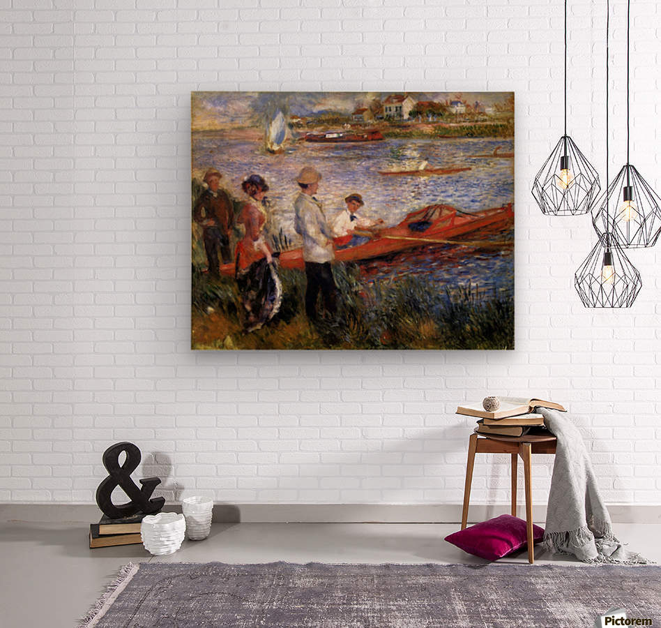 Rowers from Chatou by Renoir  Wood print