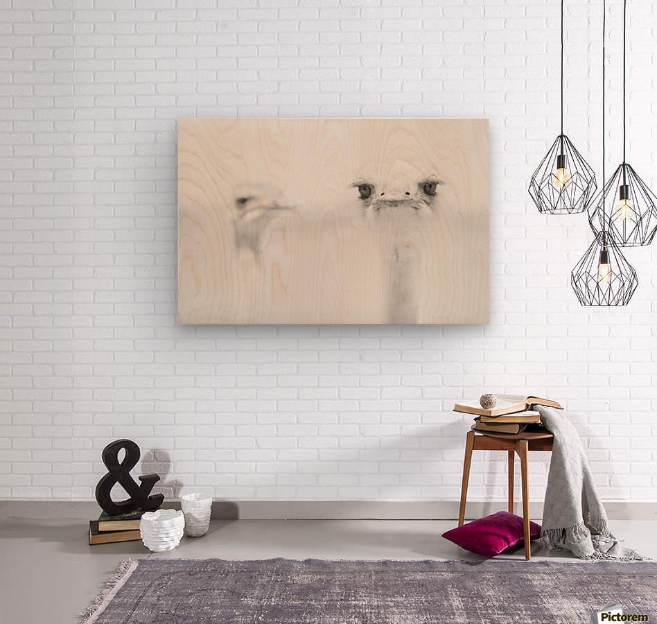 A°A°A°  Wood print