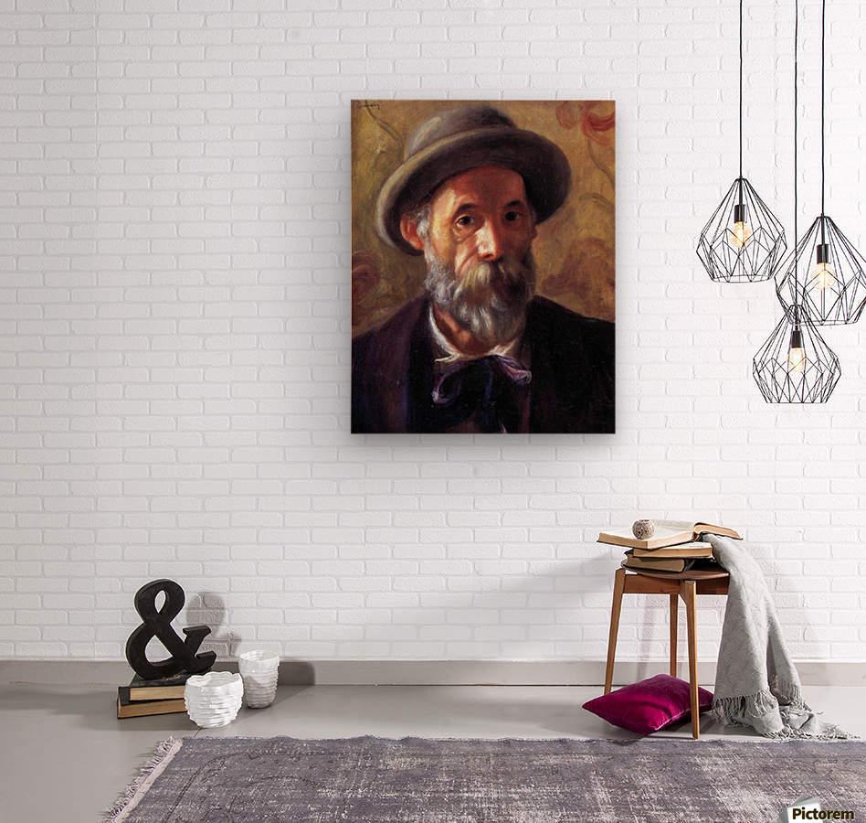Self Portrait 1 by Renoir  Wood print