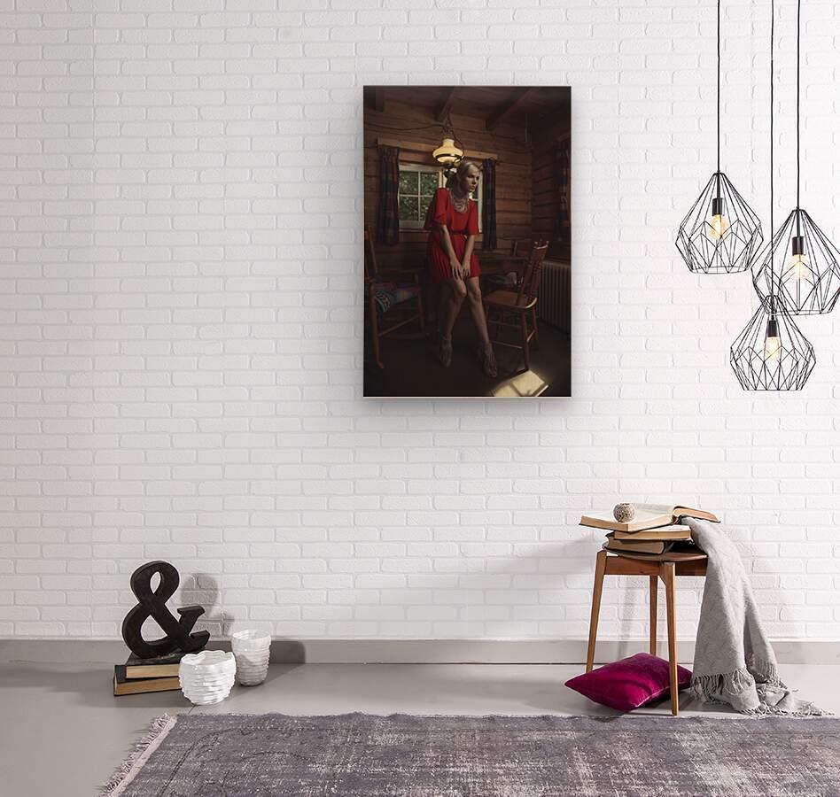 Chic Shack VI  Wood print
