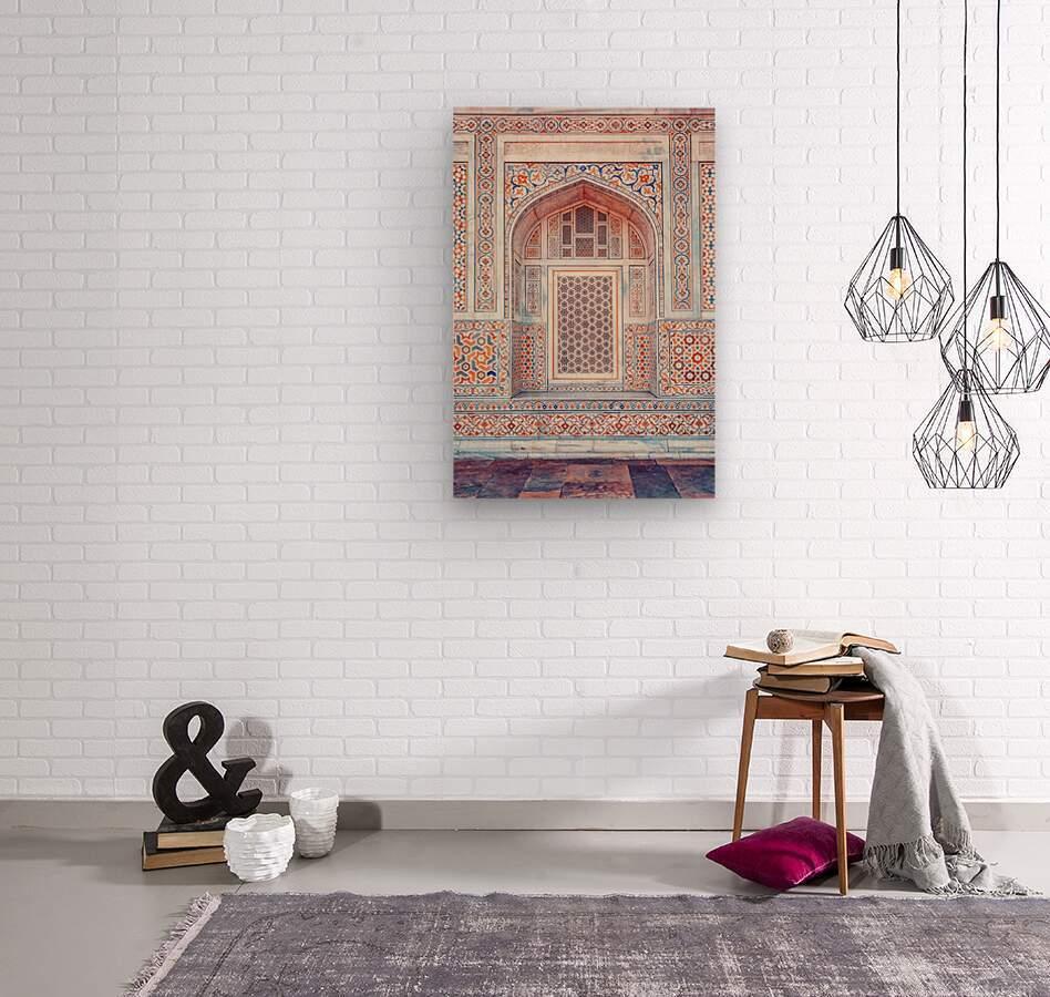 Rajasthan Architecture  Wood print